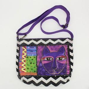 Laurel Burch Bags - Laurel Burch Cat Cross Body Purse